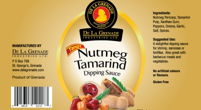 Nutmeg Tamarind Label